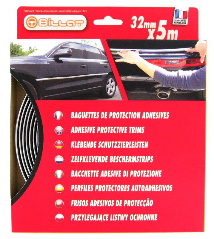 Baguette de Protection Chromée 32mm X 5m