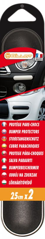 Bumper protectors 250 x 50 mm - black - header